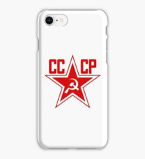 Russian Soviet Red Star CCCP (Clean) iPhone Case/Skin