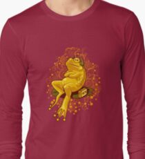 FROGGIE IN RELAX MODE Long Sleeve T-Shirt