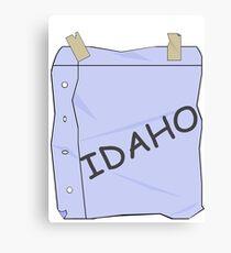 I'm Idaho!  - Ralph  Canvas Print