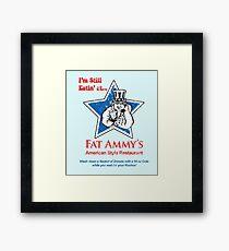 American Style Restaurant (Arrested Development) Framed Print