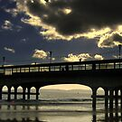 Clouds over Pier by Gaurav Dhup