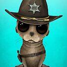Netter Baby-Seelöwe-Sheriff von jeff bartels