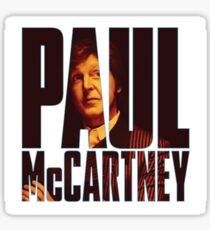 MC CARTNEY PAUL 2017 PANGLONG Sticker