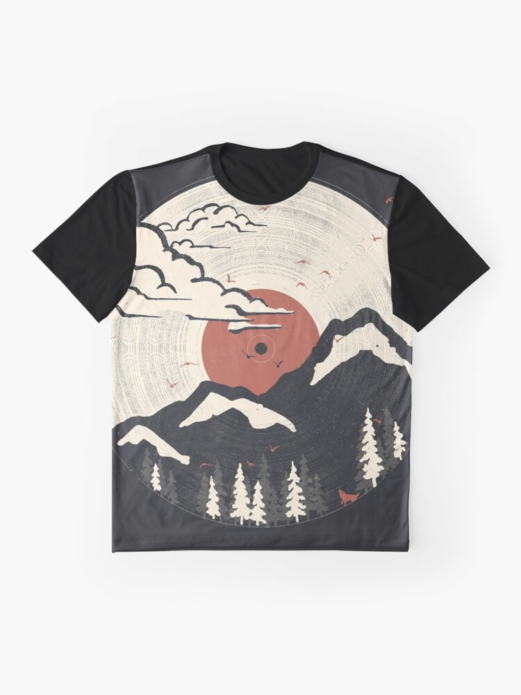 Alternate view of MTN LP... Graphic T-Shirt
