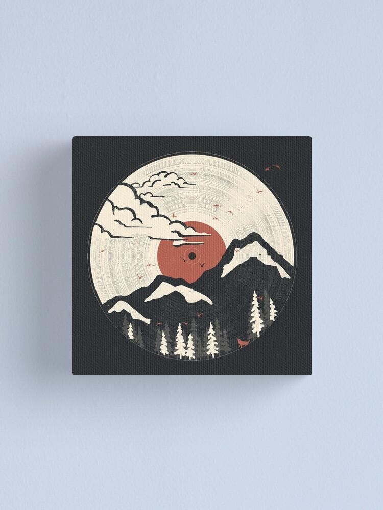 Alternate view of MTN LP... Canvas Print