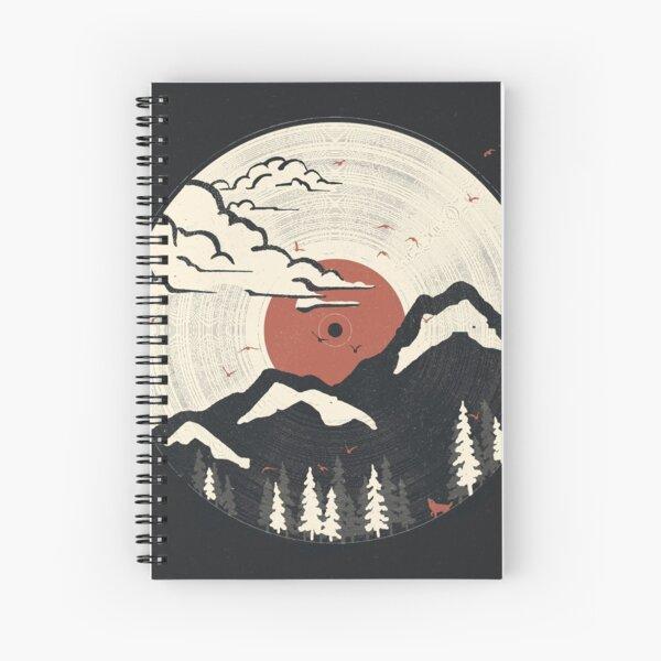 MTN LP... Spiral Notebook