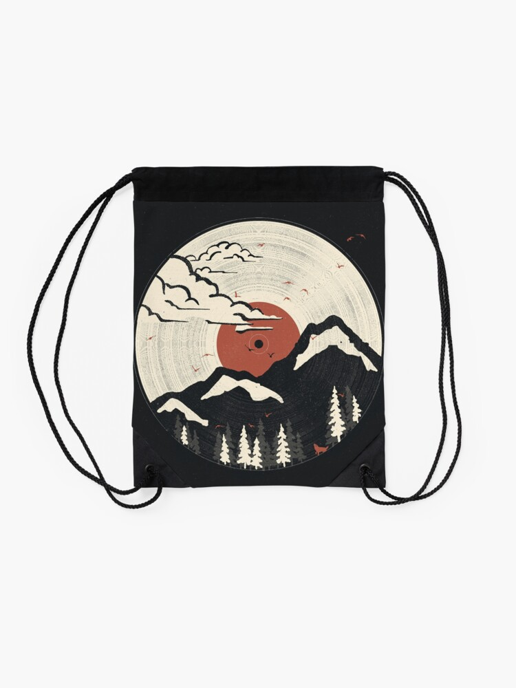 Alternate view of MTN LP... Drawstring Bag