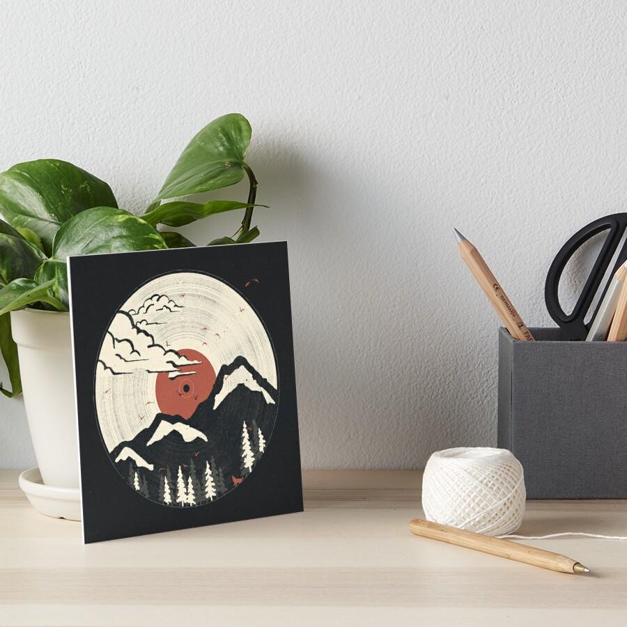 MTN LP... Art Board Print