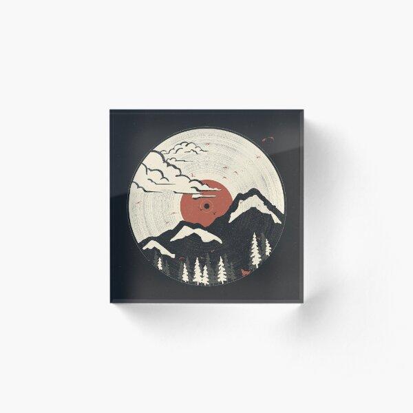 MTN LP... Acrylic Block