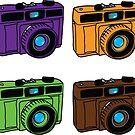 Secondary Colors Retro Cameras by WayneYoungArts