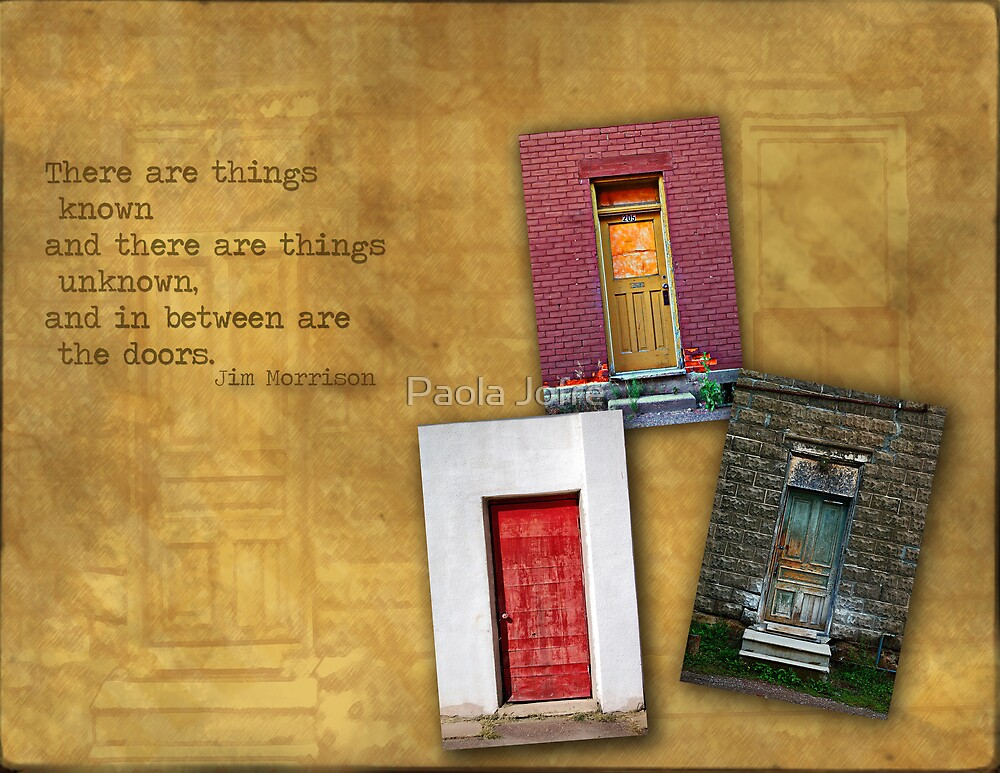 Doors by Paola Jofre