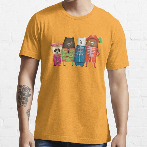 Sgt Pepper's Lonely Hearts Club Bears Essential T-Shirt