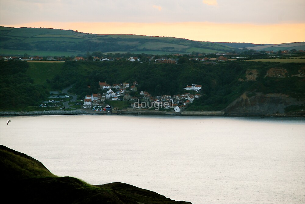 Runswick Bay, from Kettleness Cliffs by dougie1