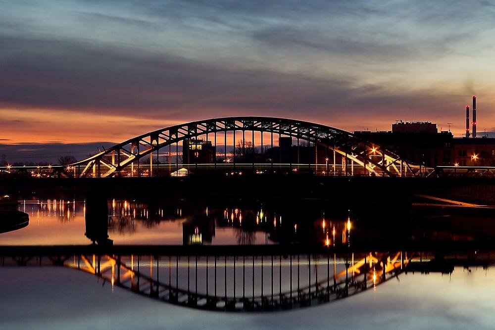 Piłsudski's Bridge by Kirsty Hodge