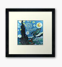 Starry Flight Framed Print