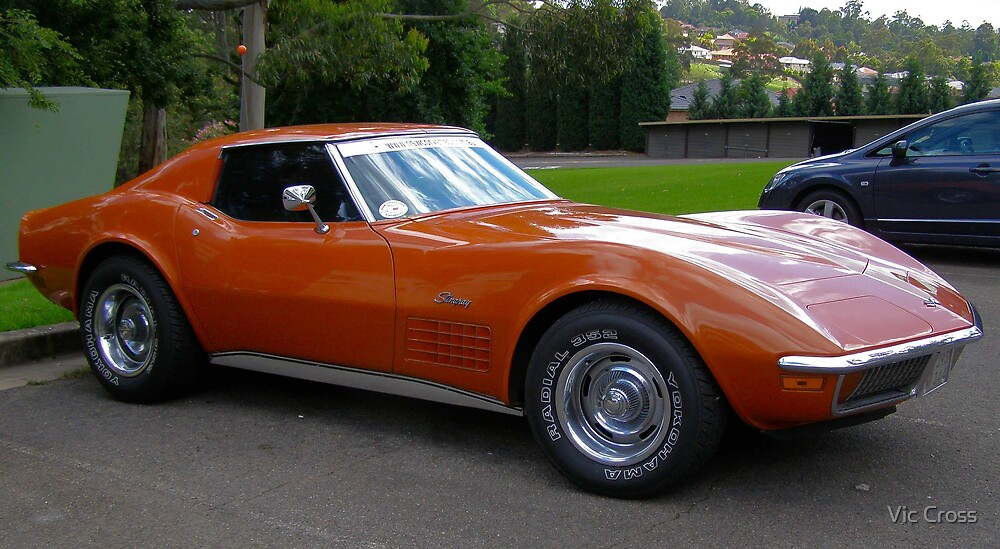 Corvette by Vic Cross
