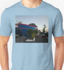 Ship Out Of Water, Queensland, Australia 2008 T-Shirt