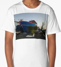 Ship Out Of Water, Queensland, Australia 2008 Long T-Shirt