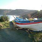 Fishing boat at Runswick Bay by dougie1
