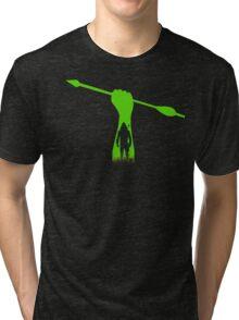 Green hero Tri-blend T-Shirt