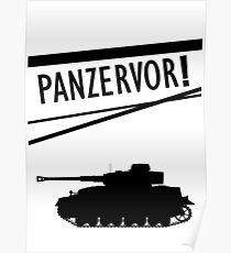 Panzervor! Poster