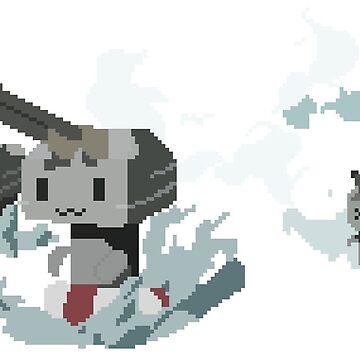 Kantai Collection Rensouhou Pixel Art by Deluxion