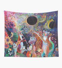 Solar Eclipse Sonata Quartet Wall Tapestry