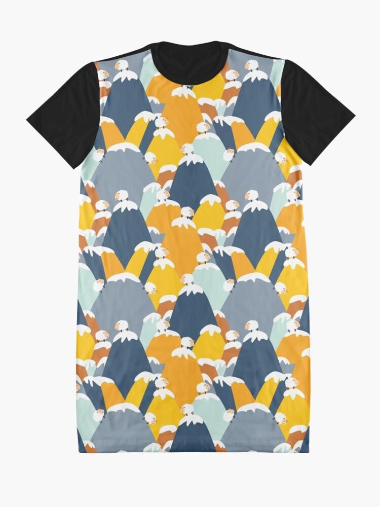Vista alternativa de Vestido camiseta Sonido de la música ovejas