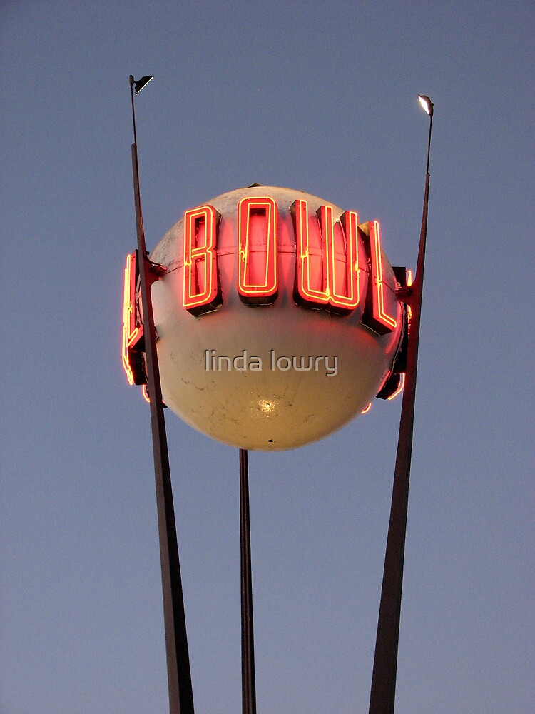 neon bowl by linda lowry