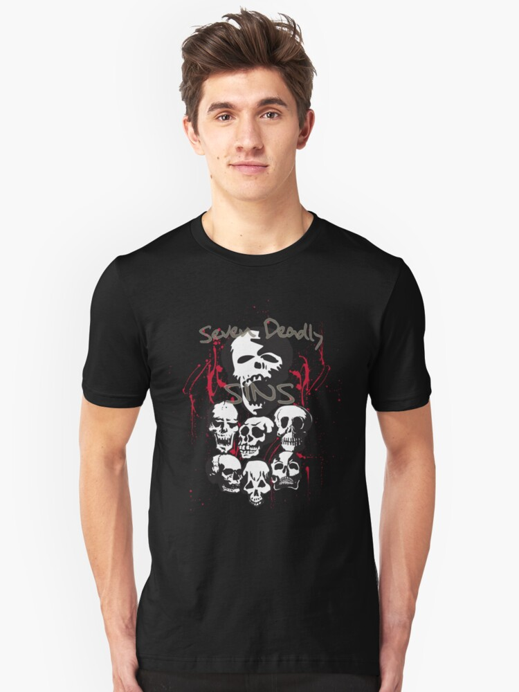 7 Deadly Sins Unisex T-Shirt Front