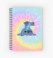 Tie-dye Stitch Spiral Notebook