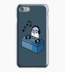 Napstablook DJ Pixel Arts Coloured iPhone Case/Skin