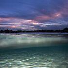 sunrise in the sea by Vince Gaeta
