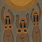 Sunflowers- The Inca Maidens of the Sun  by Emily Ryan