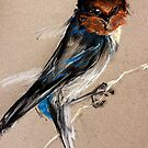 Pretty Welcome Swallow by Leonie Chinn