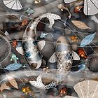 Koi Fish Pond by © Karin Taylor