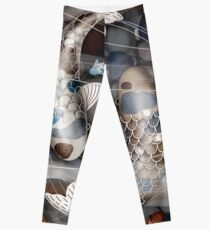 Koi Fish Pond Leggings