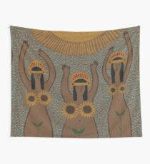 Sunflowers- The Inca Maidens of the Sun  Tapestry