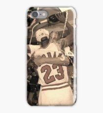 Michael Jordan NBA Championship Celebration iPhone Case/Skin
