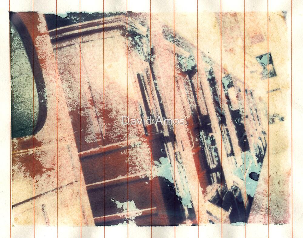 Polaroid Transfer - 3rd Class Travel by David Amos
