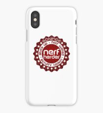 (Completely Unofficial) - Star Wars Inspired - Bonifide Stuck Up, Half Witted, Scruffy Looking, Nerf Herder iPhone Case/Skin