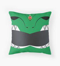MMPR Green Ranger Throw Pillow