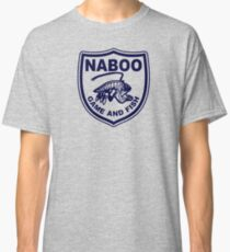 (Completely Unofficial) Star Wars Inspired, Naboo Game and Fish Classic T-Shirt