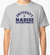 (Completely Unofficial) -  Star Wars Inspired - University of Naboo Aquaponics Classic T-Shirt