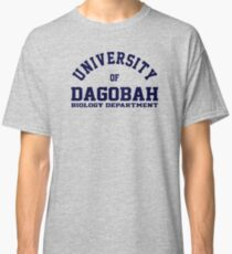 (Completely Unofficial) - Star Wars Inspired - University of Dagobah Biology Department Classic T-Shirt