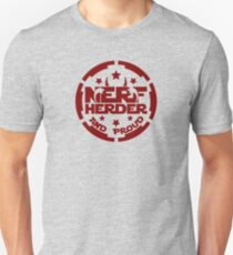 (Completely Unoffical) Star Wars inspired Nerf Herder and Proud Unisex T-Shirt