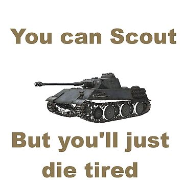 Scout, but you'll just die tired - VK 2801 by bronzestout