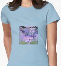 my blue eyes Womens Fitted T-Shirt