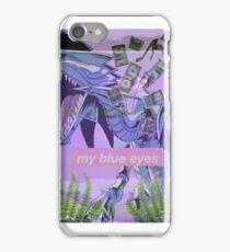 my blue eyes iPhone Case/Skin