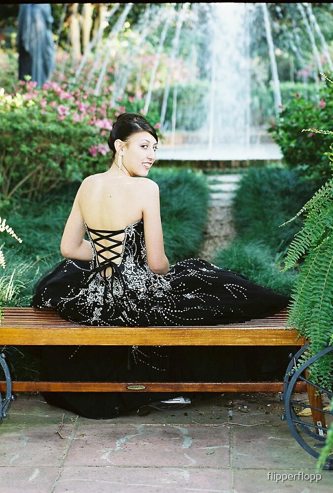garden prom beauty by flipperflopp